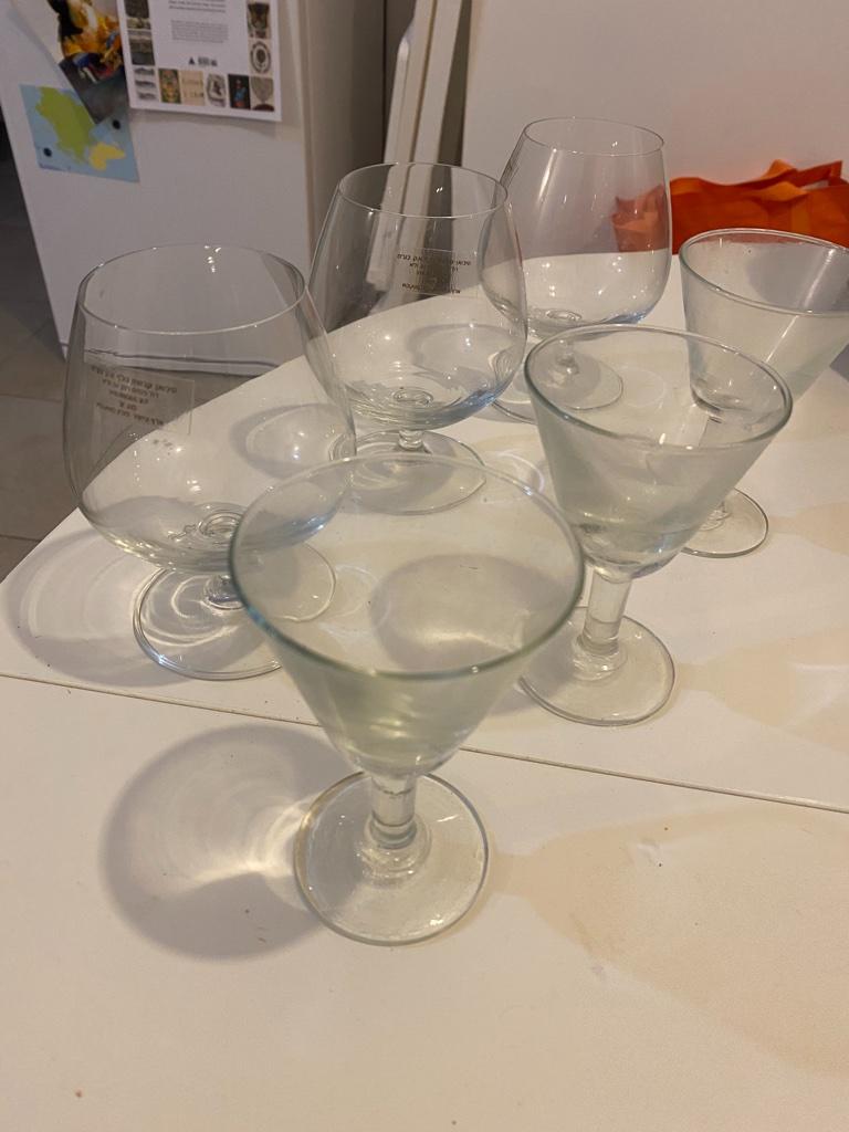 כוסות זכוכית