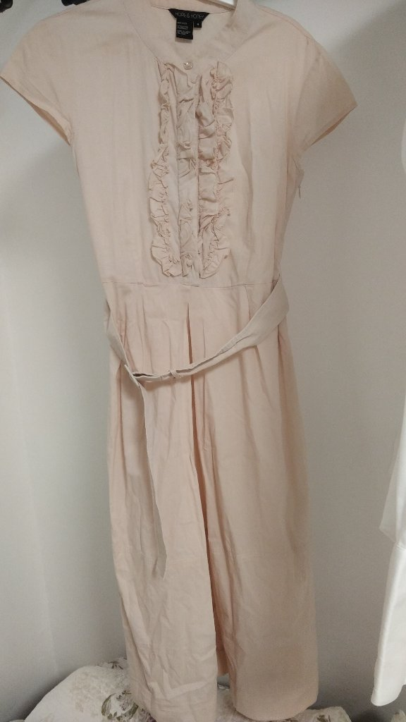 שמלה בצבע ורוד מידה 38
